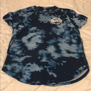 Men's Hollister T-Shirt with graphic design back